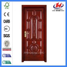 *JHK-018 European Wooden Door Design Solid Wooden Door Frame Interior Doors Wood