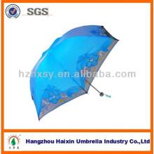 Propia marca del paraguas del paraguas bordado estilo chino