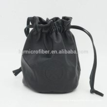 Customized printing leather jewelry package bag with fine price