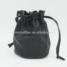 Saco do pacote da jóia do couro da impressão personalizada com preço fino