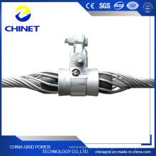 Axy Typ ADSS Suspension Clamp für vorgebildete optische Kabel verwendet