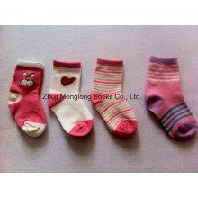 Хорошее качество Baby девушка хлопчатобумажные носки