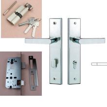 China comercializa al por mayor buen precio cerradura de puerta en placa