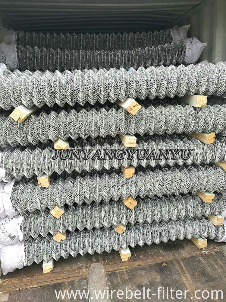 Galvanized Chainlink Wire Mesh
