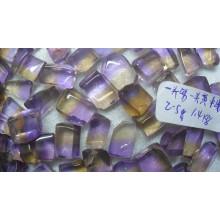 Bi-Color Light Color Ametrine Gemstone Rough Wholesale