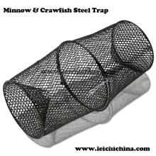 Minnow de alta qualidade e armadilha de aço dos lagostins