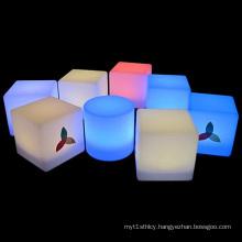 Plexiglass LED Display Lighting Cube Box