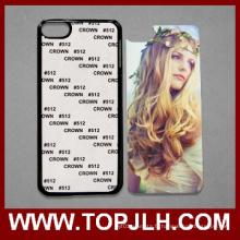 Cas de Sublimation 2D Phone Cover blanc personnalisé pour iPod iTouch 6