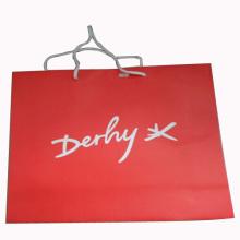 Sac en papier fait à la main pour l'emballage et le magasinage (SW101)