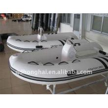 bateau rigide de fibre de verre ce rib360 avec moteur 25hp