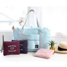 Wholesales Women Men Luggage Travel Foldable Waterproof Duffel Bag Lightweight  Folding Storage Travel Bag