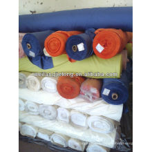 stocklot CVC & Cotton dyed bedsheet fabric