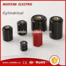 isolateur de barre omnibus en aluminium de cuivre neutre électrique de type cylindrique
