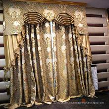 Último patrón tejido puro para cortinas