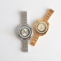 Floating stones watch bezel, 3 ATM water resistant watch MY2035 movement