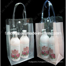 Clear PVC Cosmetic Packing Bag for Lady