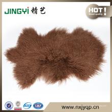 2016 высокое качество монгольский Тибет ягненка меховой овчины 50X90cm
