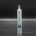 D22mm plastic cosmetic squeeze tube for skin care gel with gold screw cap