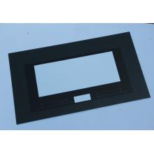 Painel de vidro temperado em forno retangular elétrico
