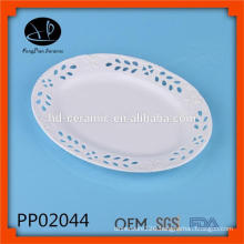 wholesale dinner plates,oval dinner plate for hotel,luxury porcelain plate