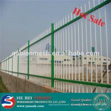 Venta caliente Zinc de acero valla / red de alta seguridad de malla para el jardín / comunidad
