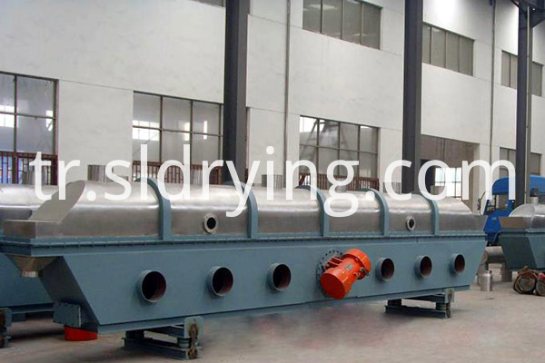 Citric acid vibrating fluidized bed dryer1