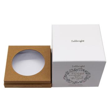 Изготовленная на заказ квадратная подарочная коробка для свечей Tealight