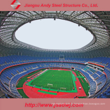 Truss en acier de qualité légère de haute qualité personnalisé pour la couverture du stade