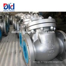 Cf8 Steam Ball Type Hersteller Hochdruckeinlass Ansi Cast Steel 4-Zoll-Rückschlagventil-Design