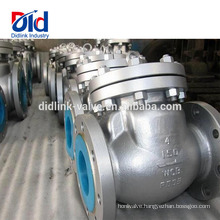 Cf8 Steam Ball Type Manufacturer High Pressure Inlet Ansi Cast Steel 4 Inch Swing Check Valve Design