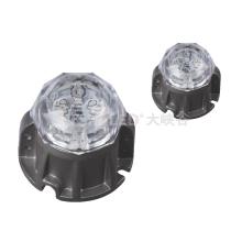 Адресный светодиодный точечный светильник DC24V RGB DMX512 SP1E