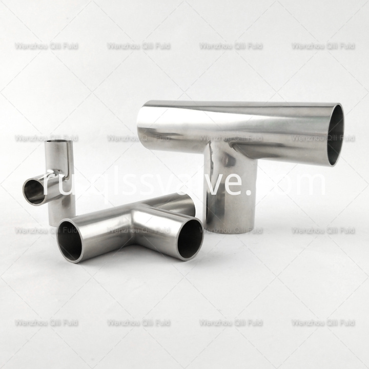 Sanitary pipe fittings Tee x59