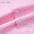 Spring Long Sleeve Executive Pink Boy Dress Shirts