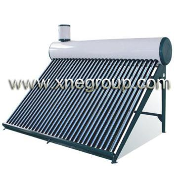 Instant Heated Solar Geyser