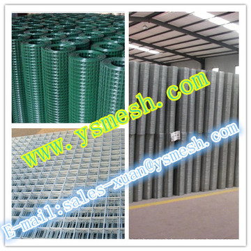 2016 anping YISHEN good quality galvanized welded wire mesh/ concrete reinforcing welded wire mesh