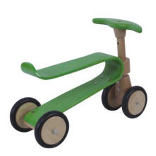 Деревянные образовательные деревянные игрушки / велосипед