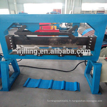 Machine de coupe à bobines en acier inoxydable de différents types