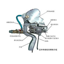 Máquina de pulverização de fazer o forro para tanque de fibra de vidro