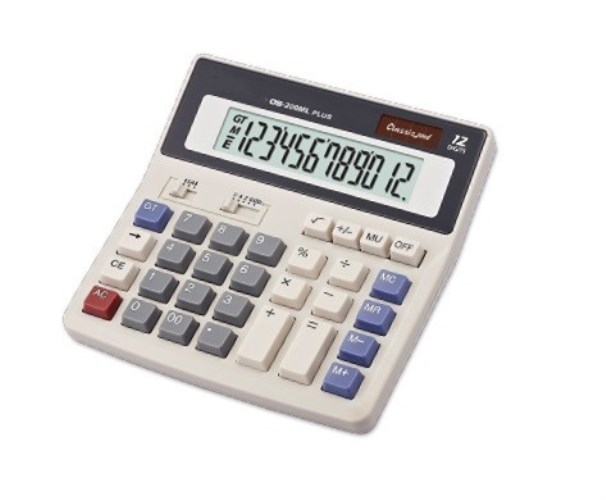 12 Digits desktop Electronic calculator