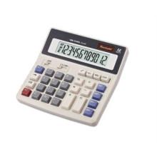 Calculadora científica de 12 dígitos con botón grande y escritorio