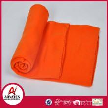 New Wholesale 100% Polyester Polar Fleece Blanket, fleece blanket from china supplier, stock polar fleece blanket stocklot