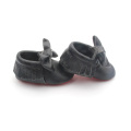 Hot Selling Bow-tie Infant Moccasin schoenen