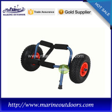 Beach kayak cart, Foam pad kayak trolley, Transport kayak trolley cart