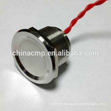 Long Life, stainless steel waterproof piezo switches, Anti-vandal Switches