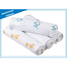 100% Cotton Muslin Swaddle Blanket