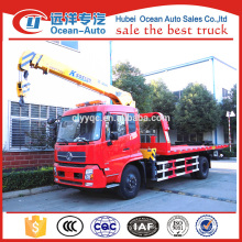 Dongfeng kinrun 4x2 towing wrecker truck crane for sale