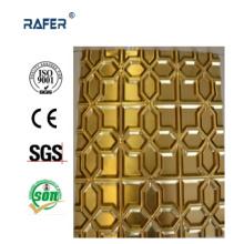 Hoja de acero inoxidable en relieve profunda caliente de la venta / hoja de acero (RA-C051)