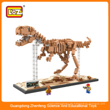22016 Beste heiße verkaufende Kinder montieren Bausteine pädagogischen Spielzeugdinosaurier