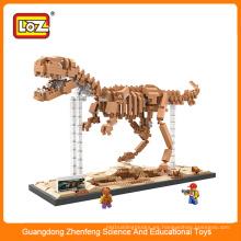 22016 Los mejores cabritos vendedores calientes ensamblan dinosaurios educativos del juguete de los bloques huecos