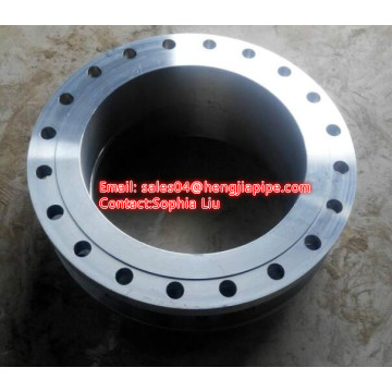 stainless steel ANSI B16.5 150# forged WN flange